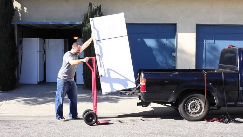 Как да транспортираме хладилник